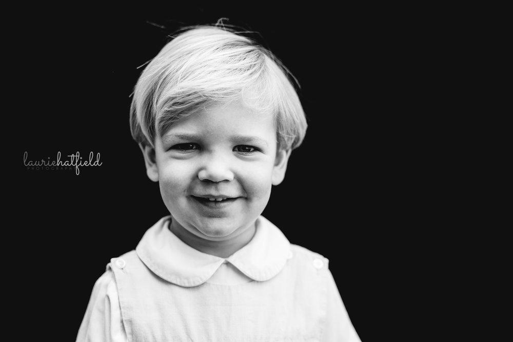 little boy school portrait | Mobile AL preschool photographer