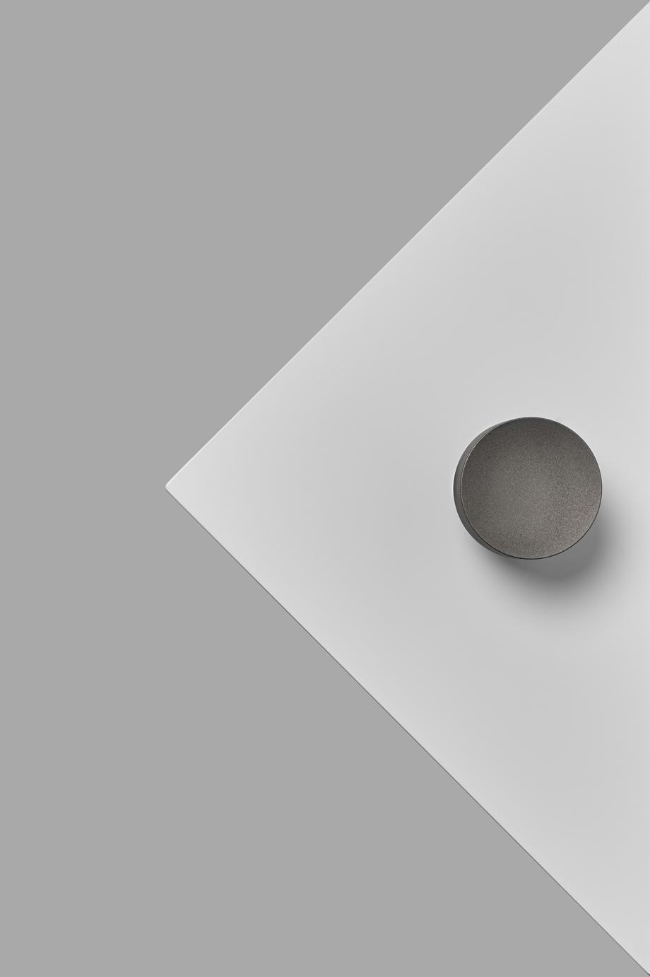 Bit Part-Brooke Holm-Megan Morton-Blasted Stainless Steel-Door Knob-White-Backplate.jpg