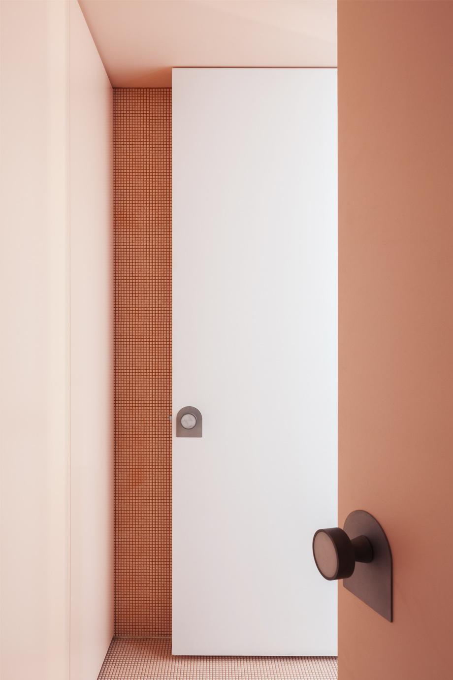 BitPart-Kat Lu-Pink-Bathroom-Door Knob-Blasted-Stainless Steel.jpg