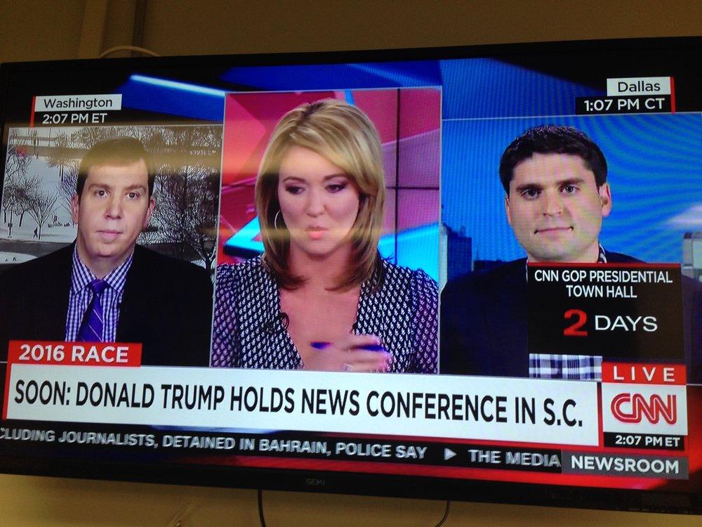CNN Appearance | 2016