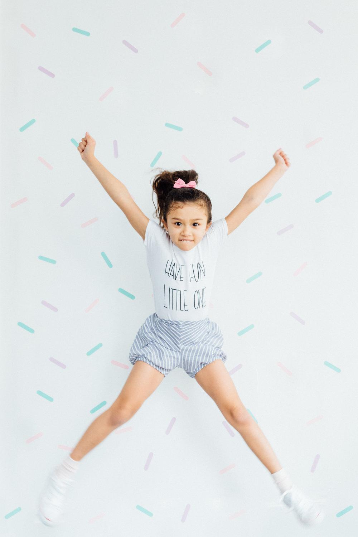 Wall Sprinkles:   Amber Moore Designs