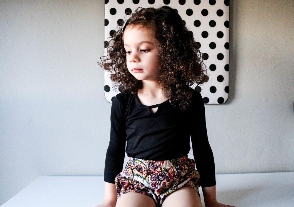 Bodysuit:   Mila James  Bloomers:   Crew & Lu