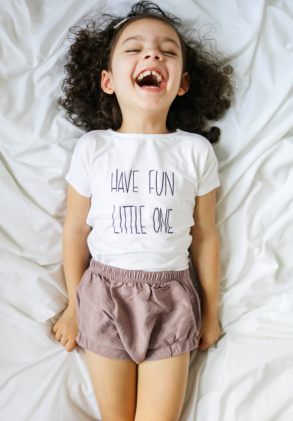 Shop the shirt   here  ! Bloomers:   Ira Loves Mae