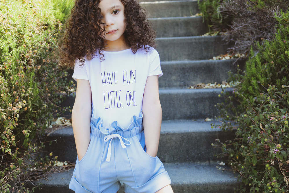 Tee:   Mila James   Shorts:   Big Kiss Little Kiss