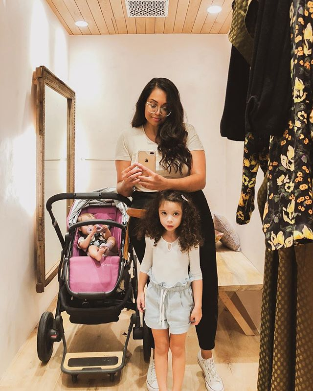 It's my birthday! I'm so grateful for my mama and these girls for giving me so much life! Even more grateful that they allow me to get through at least one store before totally losing it. Swipe to see the people who gave me a birthday to celebrate! #coolparents #34 #happybirthdaytome 🎂 • • #milajames #havefunlittleone #itsmybirthday #virgo #virgoseason #momlife #momblogger #bloggingmama #kidsshop #taptoshop #kidlife #igmotherhood #modernmotherhood #honestlymothering