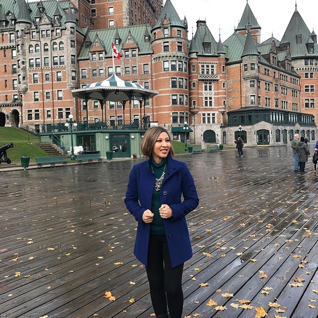 I'm stepping into this cold Florida day ready and excited!!! Had the best time @fairmonthotels in Quebec City. Loved @aritheheiress girls trip—so many memories💕💕💕
