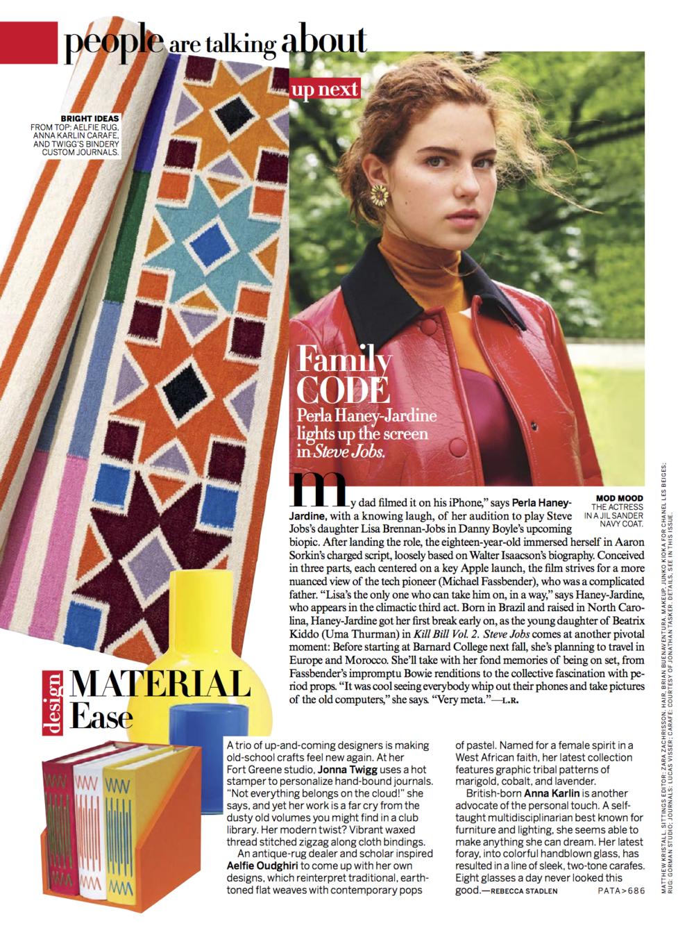 Vogue, September 2015