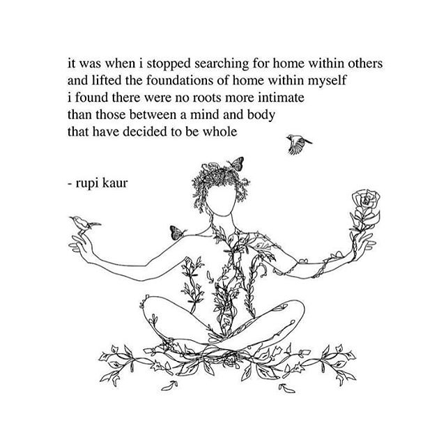 Thoughts today..... 🌸✨ #rupikaur