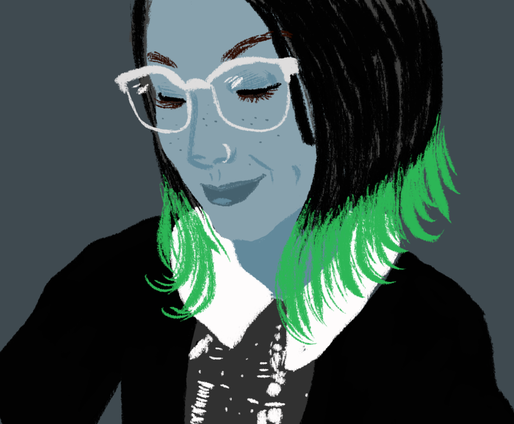 Self portrait, October 2017