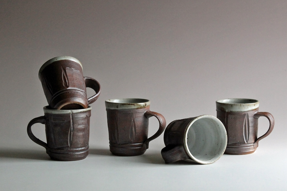 Mugs with handles