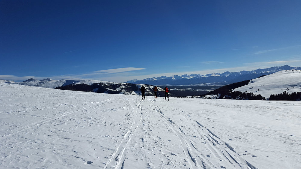 Backcountry ski trip February 2016