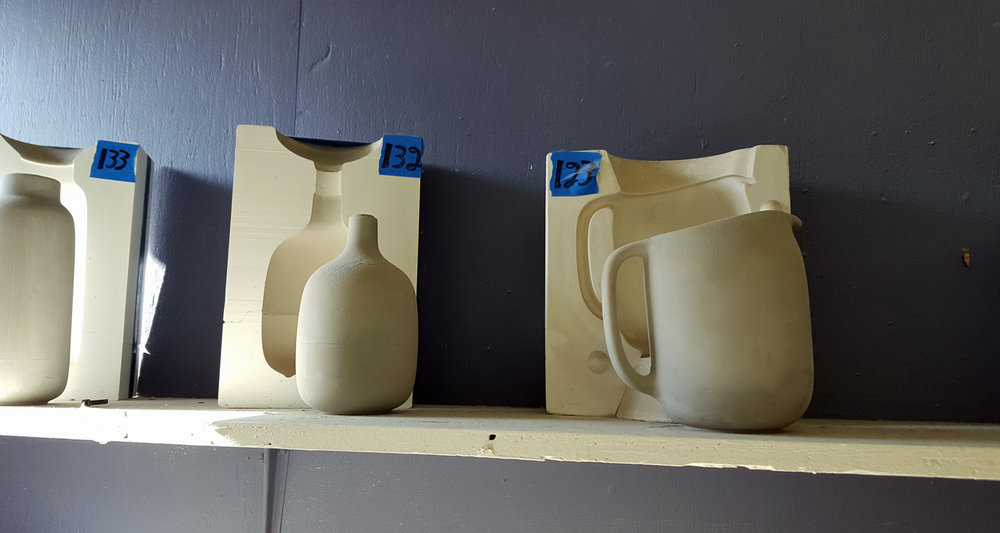 Heath Ceramics molds