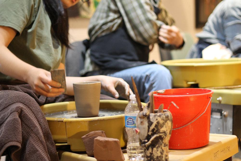 weekend clay workshop in McKinney, Texas 2017
