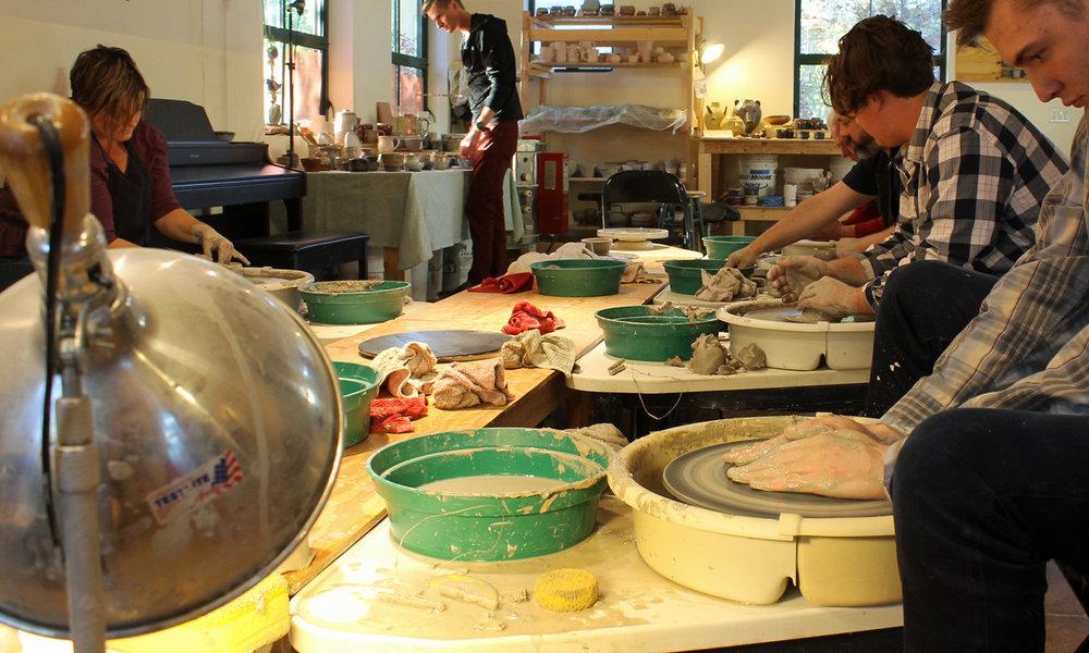 santa fe pottery class