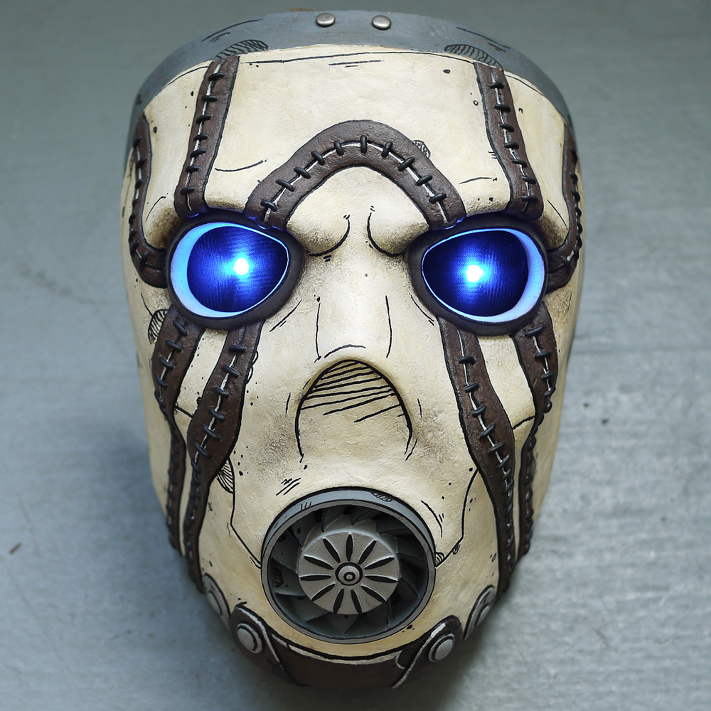 Borderlands Psycho Bandit Mask Replica Front View