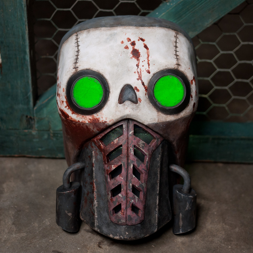 Borderlands 2 Bandit Steve Mask Replica Front View