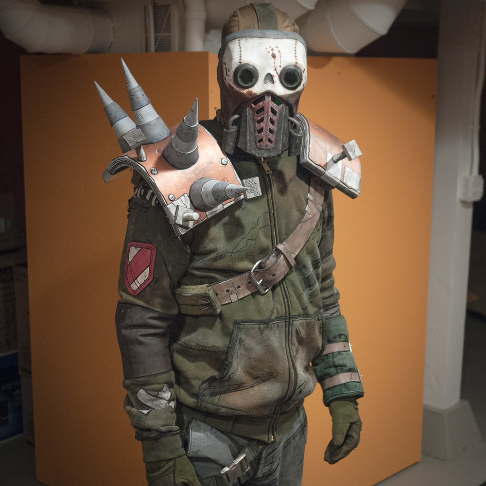 Borderlands 2 Bandit Steve Costume Full View