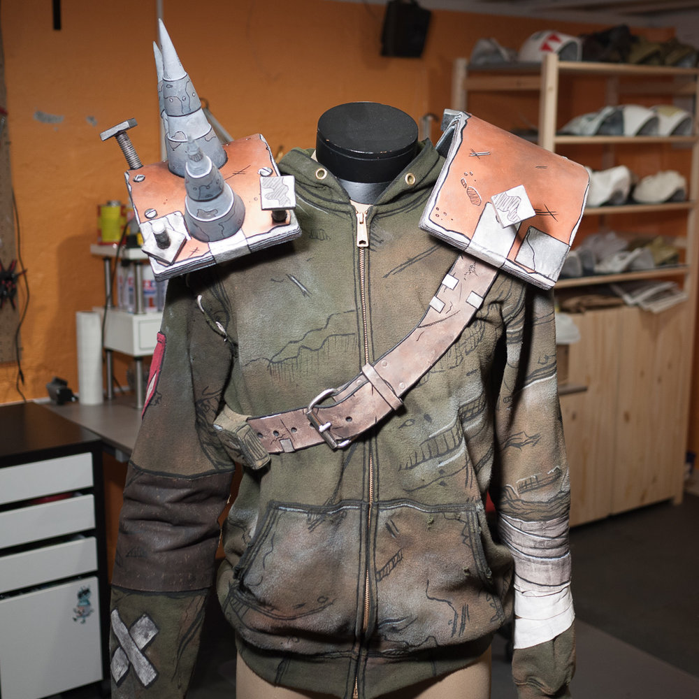 Borderlands 2 Bandit Steve Costume Front View