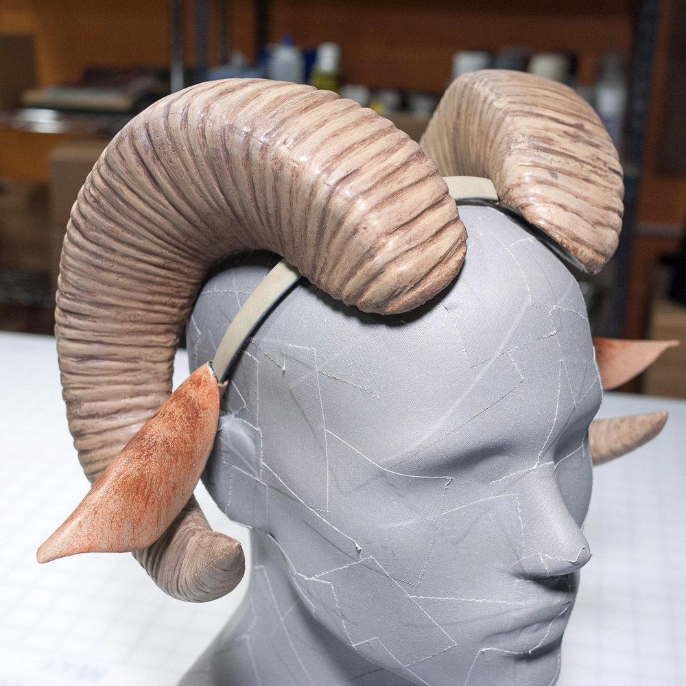 Saga Mark Horns Prop Replica
