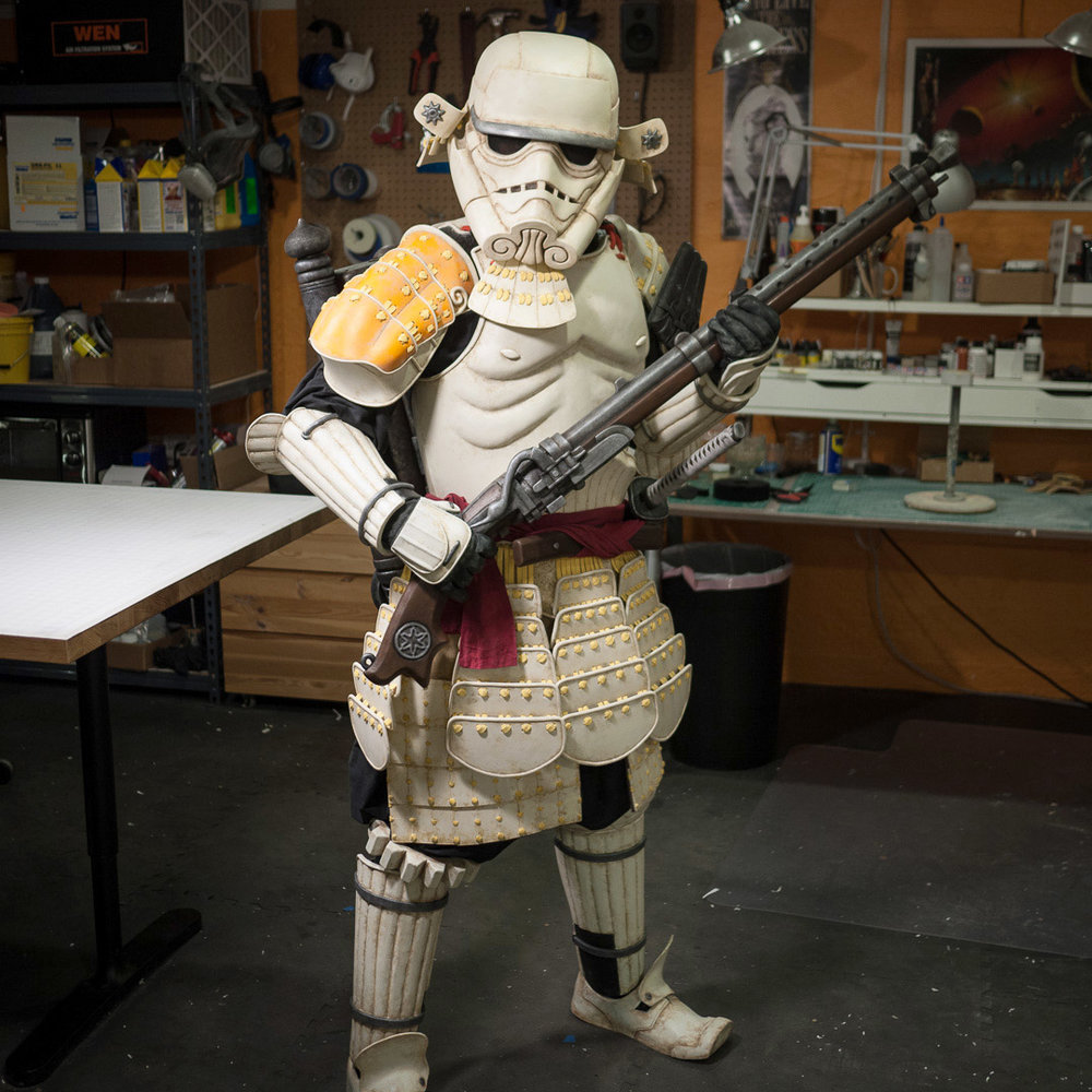 Meisho Movie Sandtrooper Foam Costume