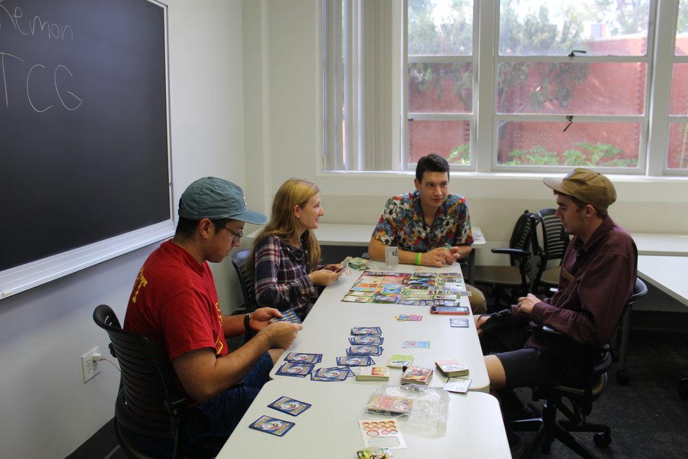 Alex Wiener strategically plans his next move to absolutely destroy Splash participants in their intense Pokémon card battle.