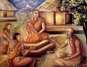 "Initiation as ""Sanyasi"""
