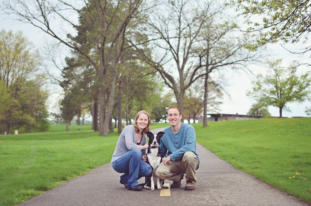 """Being a photographer myself, I never get to be in any pictures and am VERY picky about my photos. My friend and I asked her to take some photos of us and our doggie Hope and they turned out better than I could have ever imagined! It also happened to be her first time with a dog on location, but she stepped right up to the challenge and got many, many fantastic shots.Her style is flexible, easy going, fun, and overall pleasant. I will certainly be asking for her services again! Thanks Jaci!"" -Jim Clements"