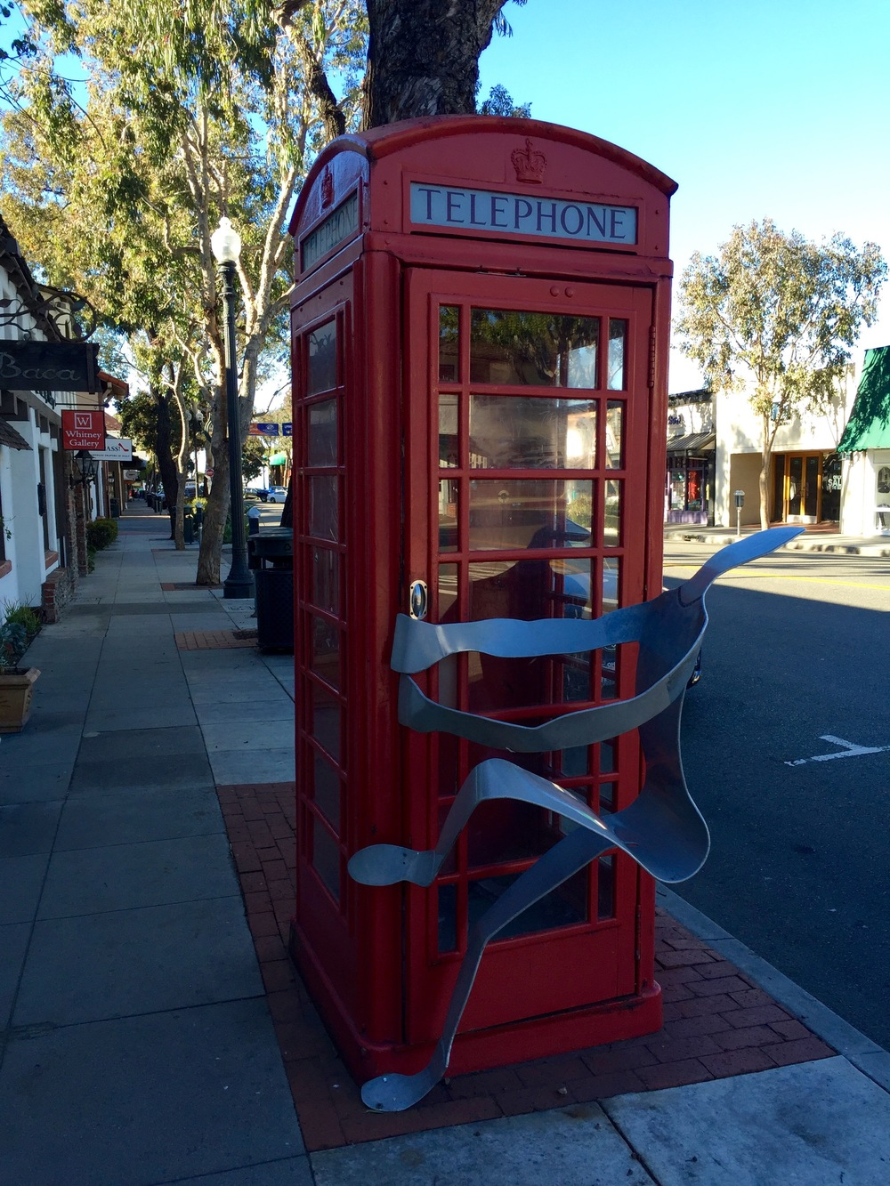 The Red Phone Booth