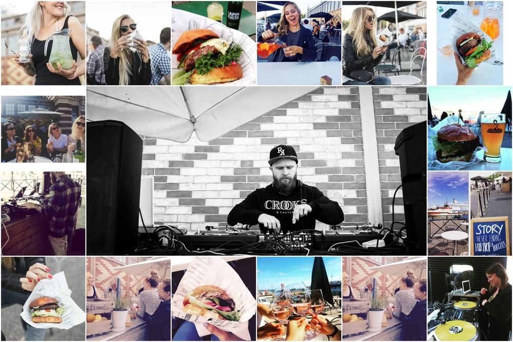 kuvat viime kesältä: kirakosonen.fi, instagram: #hiphopandburgers
