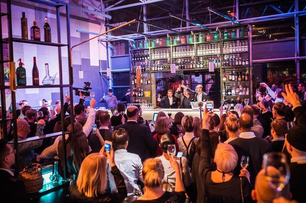 Bar Cónin avajaiset 3.12.2017