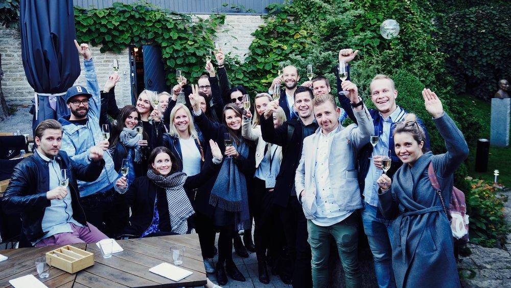 We Are Groupin keittiömestarit ja ravintolapäälliköt SAUCE forum tapahtumassa Tallinnassa
