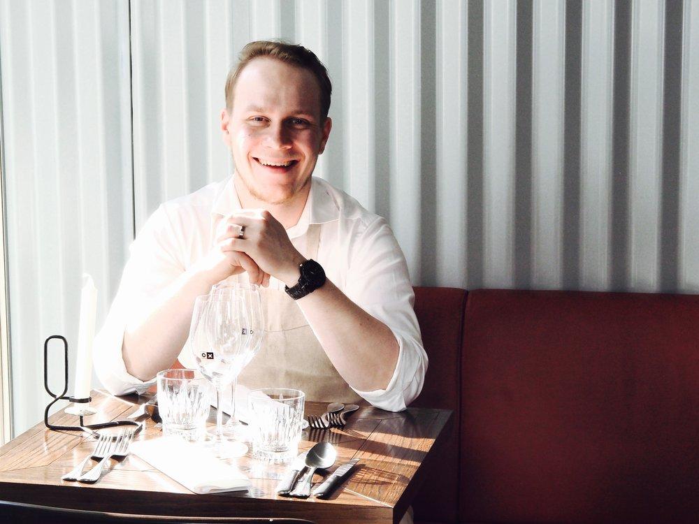OX:in ravintolapäällikkö, Toomas Tuovinen.