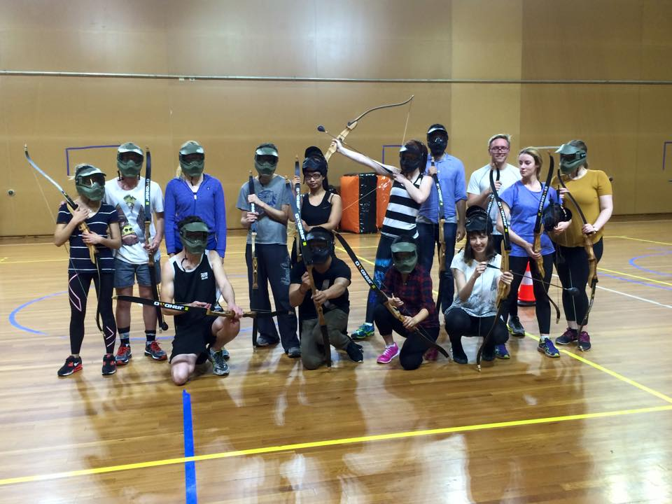 The Archery Crew #SquadGoals