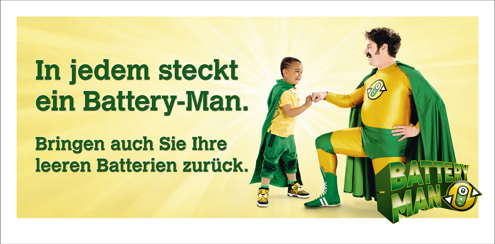 BATTERY-MAN / Kampagne Inobat
