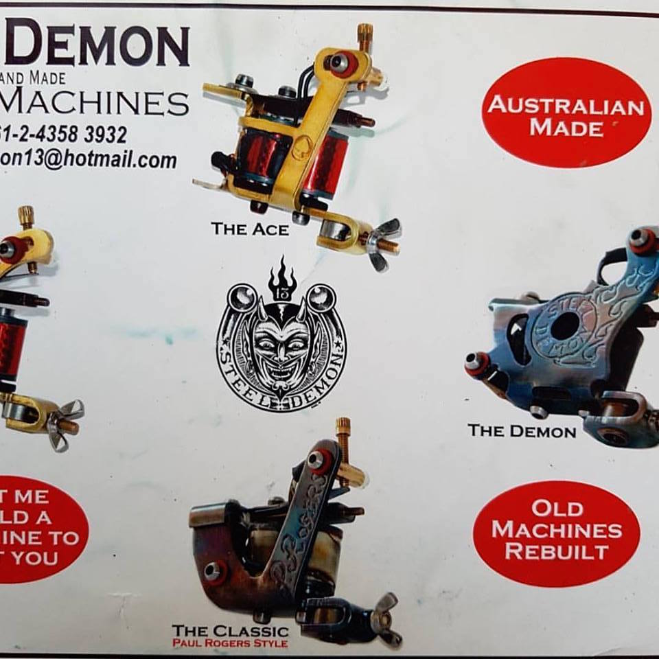 Old Demon Machines Catalogue
