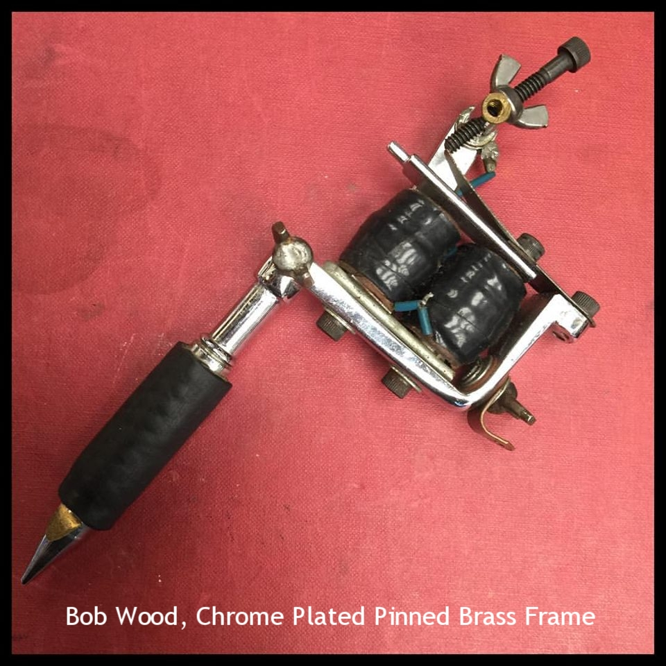 Bob Wood, Chrome Plated Pinned Brass Frame
