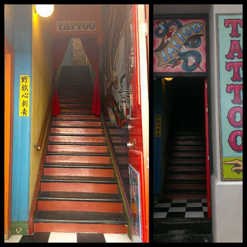 Wild At Heart Tattoo entrance