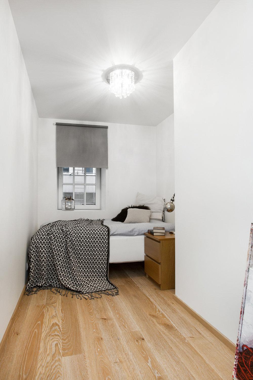 Soverom nr. 2 har også god plass til dobbelseng.