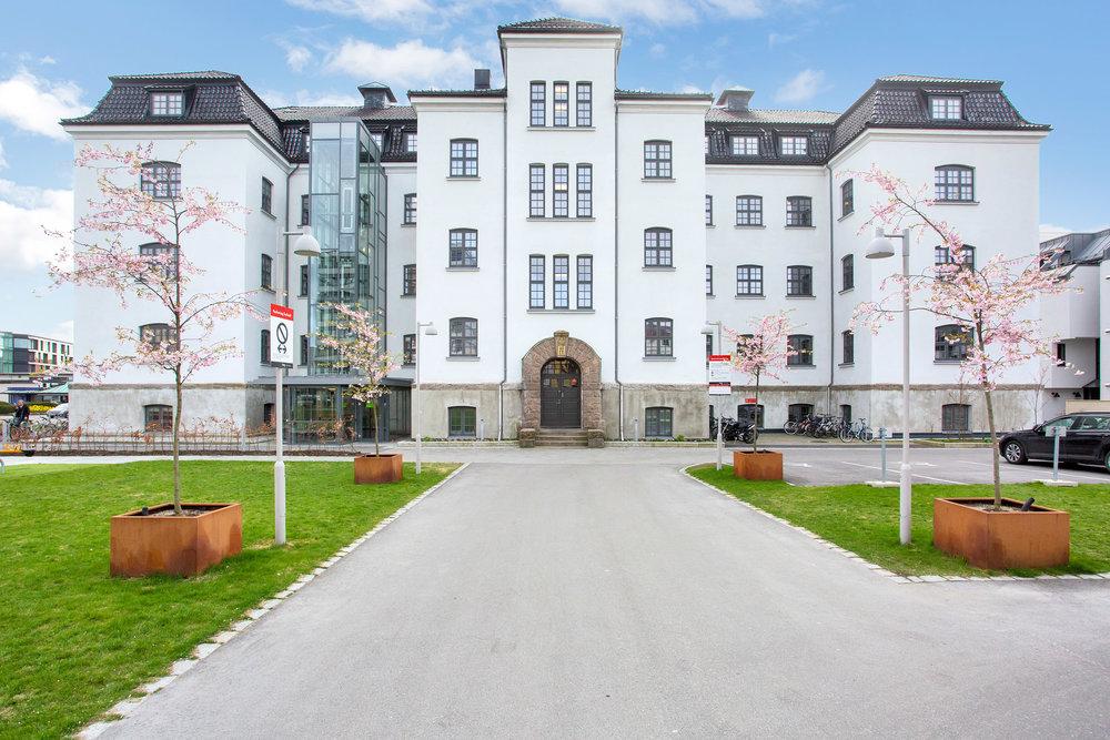Kasernen Boligsameie - historisk bygg med moderne fasiliteter.