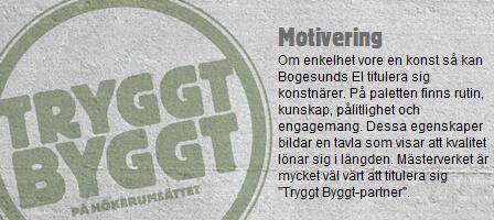 Bogesunds El & Tele AB, 2012-12-20