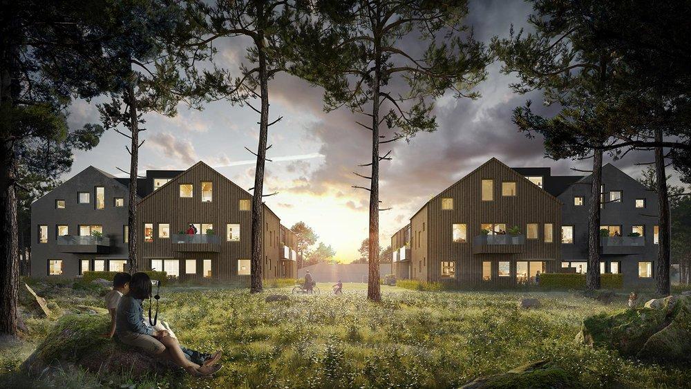 Snabbfakta - Försäljning pågår35 lägenheterInflyttningsklart nuLovisedalsvägen, ÄltaMäklare, Svensk Fastighetsförmedling i Nacka