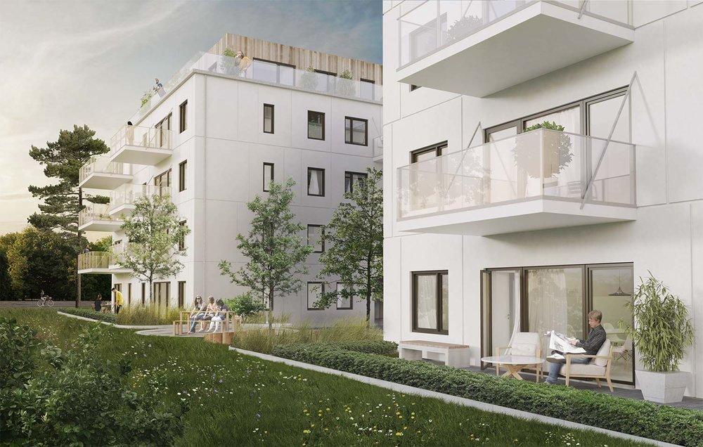 Snabbfakta - Försäljning pågår!Byggstart våren 2019!50 lägenheterInflyttning vintern 2021Fornminnesvägen, VallentunaMäklare, Svensk Nyproduktion