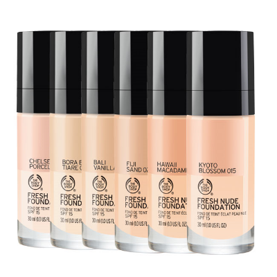 The body shop  -  FRESH NUDE FOUNDATION , £15