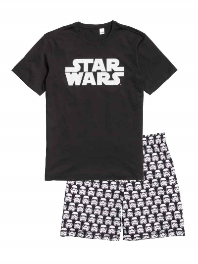HIS:  H&M MENS STAR WARS PYJAMAS , £14.99