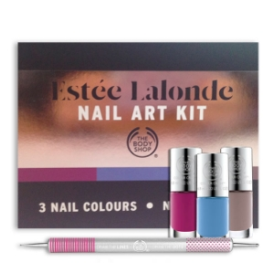 the body shop estee lalonde nail art kit , £15