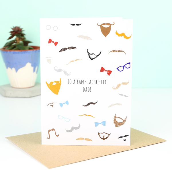LISA ANGEL 'FAN-TACHE-TIC' FATHER'S DAY CARD, £1.50