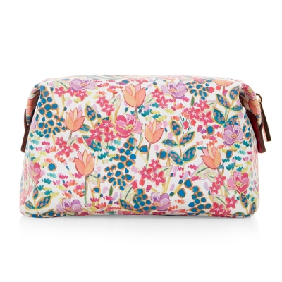 ACCESSORIZE SUMMER FLORAL MAKE UP BAG , £12
