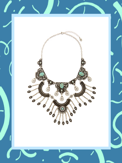ACCESSORIZE MARRAKESH STATEMENT NECKLACE, £25
