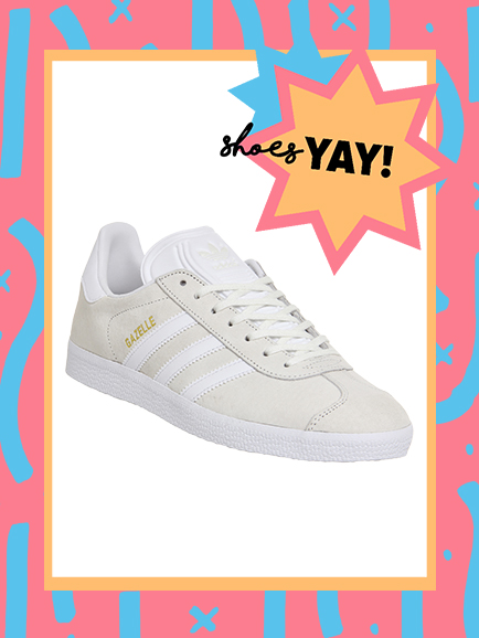 ADIDAS GAZELLE OFF-WHITE TRAINERS FROM OFFICE , £74.99