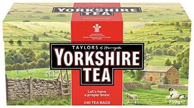TAYLORS YORKSHIRE TEA BAGS, £11.50